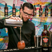 Havana Club 7 Años neues Design Launch Berlin