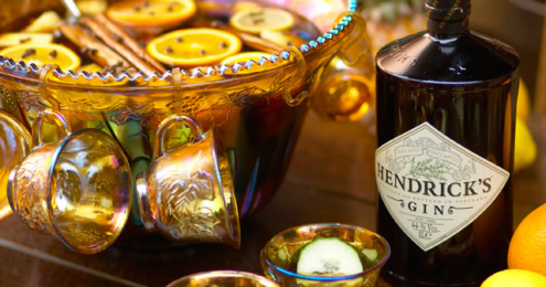 Hendrick's Gin Hot Gin Punch