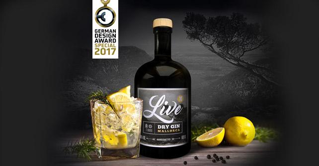 LIVE Gin German Design Award 2016