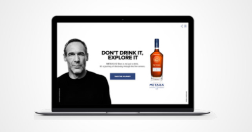 METAXA Mike Horn Kampagne