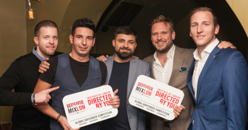 Beefeater MIXLDN Bartender Competition 2016 Sieger Jury
