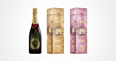 Moët & Chandon Bursting Bubbles Limited Editions
