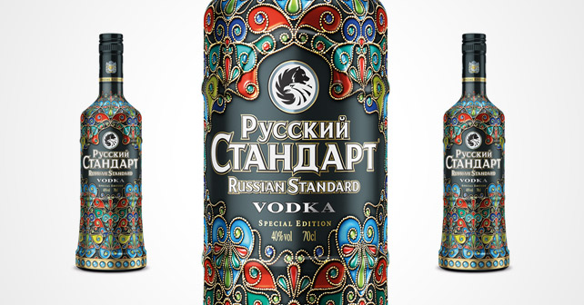 "Russian Standard Limited Edition ""Cloisonné"""