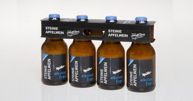 Steinie Apfelwein alkoholfrei