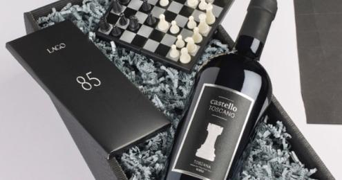 Weinkontor Freund Wein Schokolade Schach
