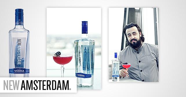 New Amsterdam Vodka Levent Gudegast
