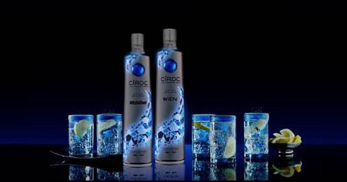 CÎROC leuchtende Limited Edition Bottle