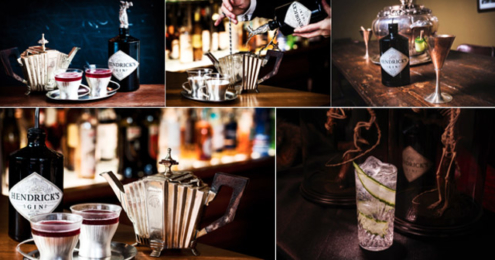 Hendrick's Gin Cocktails Winter 16