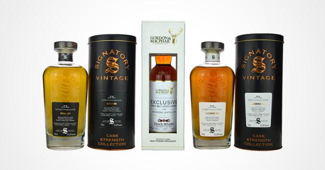 Kirsch Whisky Jubiläumsabfüllungen