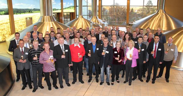 Krombacher Brauerei Jubilare 2016