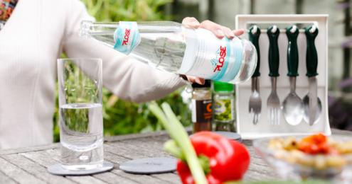 Plose Mineralwasser Garten