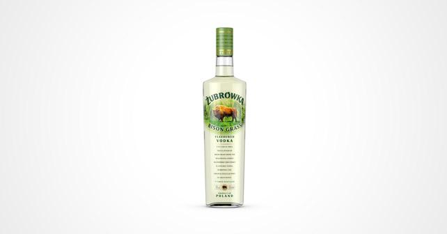 Zubrówka Vodka neues Flaschendesign