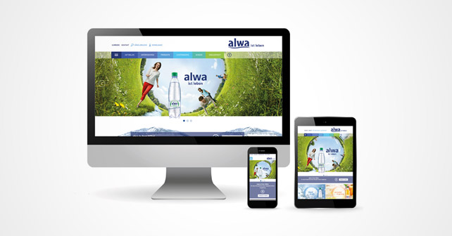 alwa Website Relaunch