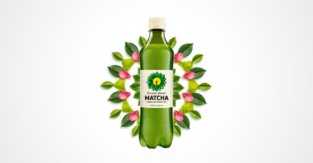 Carpe Diem Matcha Sparkling Green Tea