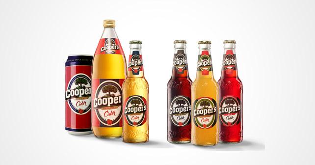 Cooper's Cider neues Design neue Sorten