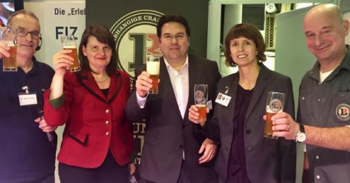 Deutscher Brauer-Bund Grüne Woche 2017