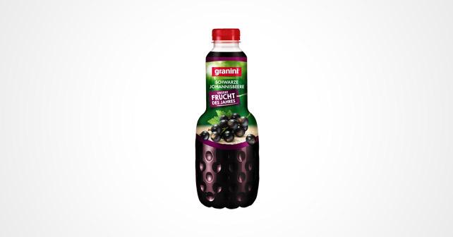 granini Frucht des Jahres Schwarze Johannisbeere