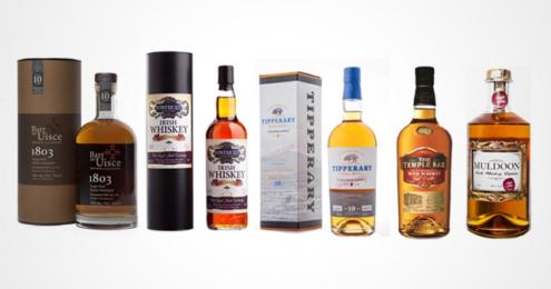 Irish Whiskeys Finest Spirits 2017