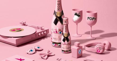 Moët Rosé Impérial Emoëticons Limited Edition