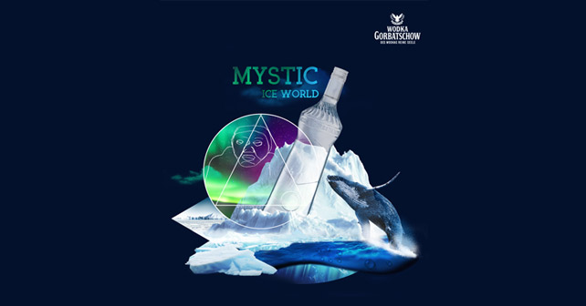 Wodka Gorbatschow Mystic Ice World Design