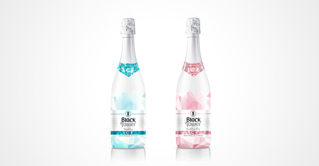 Black Tower Ice Rosé