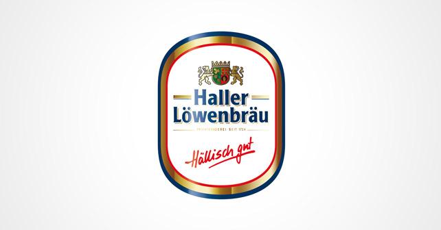 Haller Löwenbräu Logo