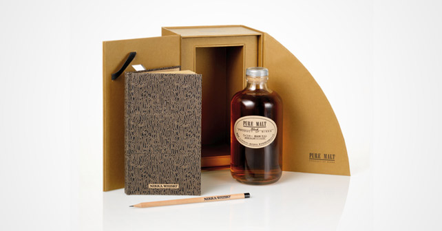 Nikka Pure Malt Black Notizbuch
