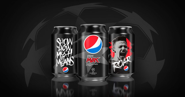 Pepsi MAX Live For Now Edition