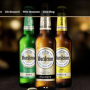 Warsteiner Website Relaunch