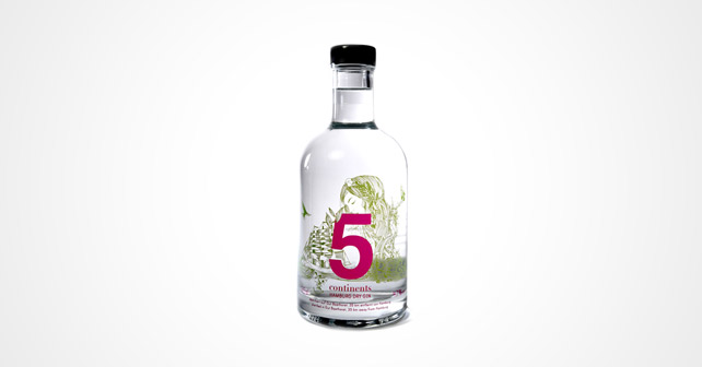 5 continents Gin Springtime Edition