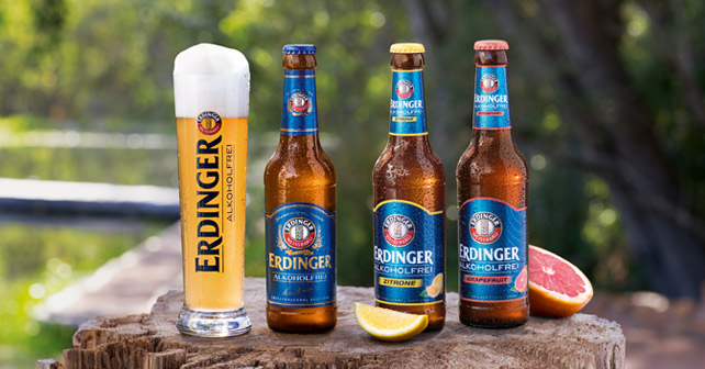 ERDINGER Alkoholfrei Range