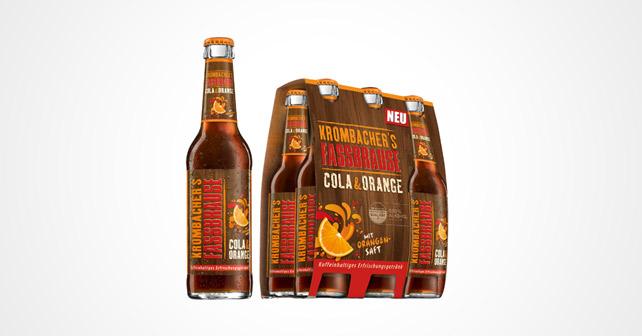 KROMBACHER'S FASSBRAUSE Cola & Orange