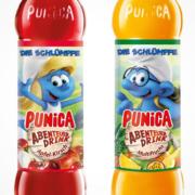 Punica Abenteuer Drink Schlümpfe