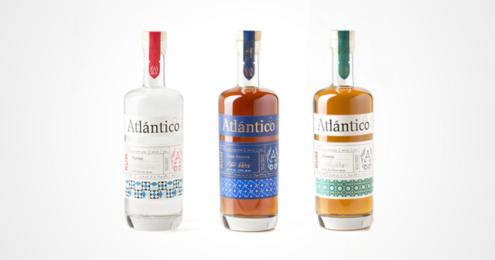 Atlántico Rum neues Design