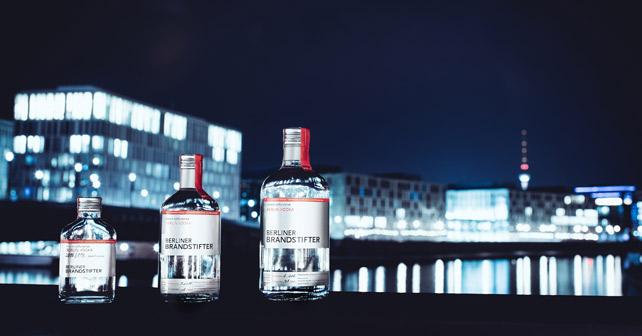Berliner Brandstifter Flaschen