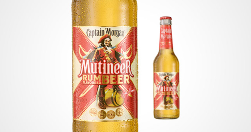 Captain Morgan Mutineer Rum Flavoured Beer