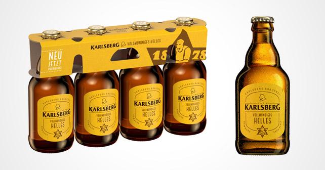 Karlsberg vollmundiges Helles
