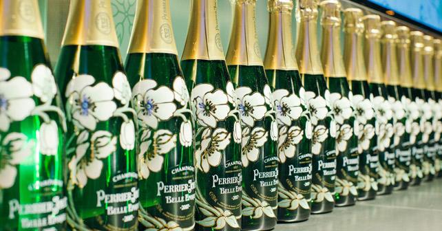 Perrier-Jouët Flaschen