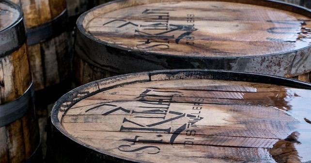 St. Kilian Distillers Fass