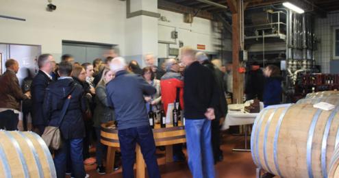 Weinfactum Tag der offenen Kelter