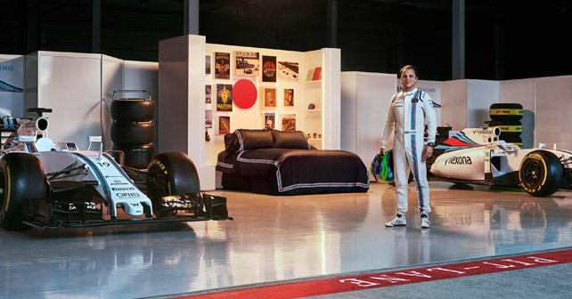 """""""Williams MARTINI Racing""""-Garage"""