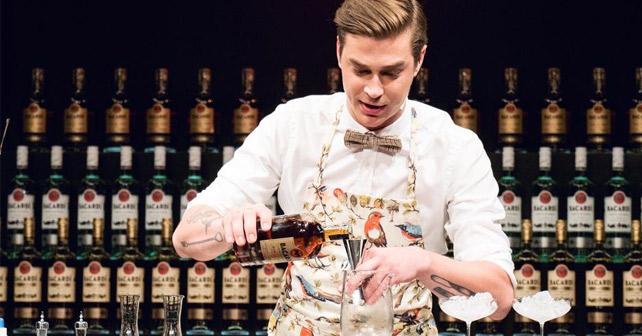 Ran Van Ongevalle BACARDÍ Legacy Global Cocktail Competition 2017