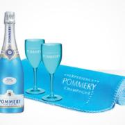 POMMERY Royal Blue Sky Picknick-Set