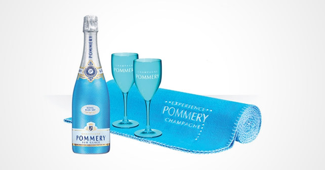POMMERY Royal Blue Sky Picknick-Set
