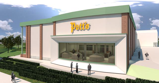 Pott's Neubau Sudhaus