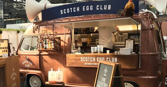 Dewar's Scotch Egg Club