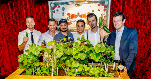 Hendrick's Gin World Cucumber Day 2017 Gurkenbeet