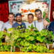 Hendrick's Gin World Cucumber Day 2017 Gurkenbeet