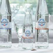 Rheinfels Quelle Gourmet neue Glasflaschen