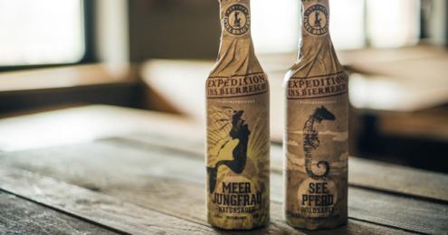 Rügener Insel-Brauerei Meerjungfrau Seepferd